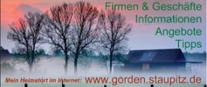 Homepage von Gorden-Staupitz