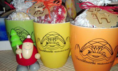 Nikolaus 2016 - gefüllte Tassen vom Weidendom Staupitz